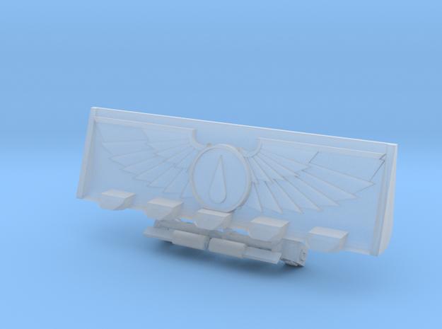 Teardrop Devotional Bulldozer Blade Kit in Smooth Fine Detail Plastic