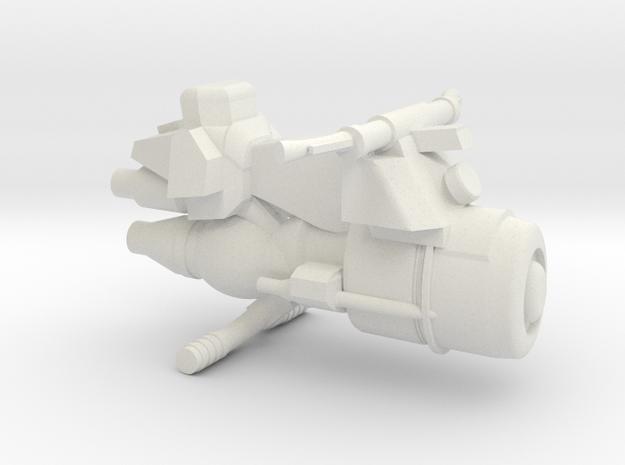 Civilian Jet Bike Model 5A  in White Natural Versatile Plastic
