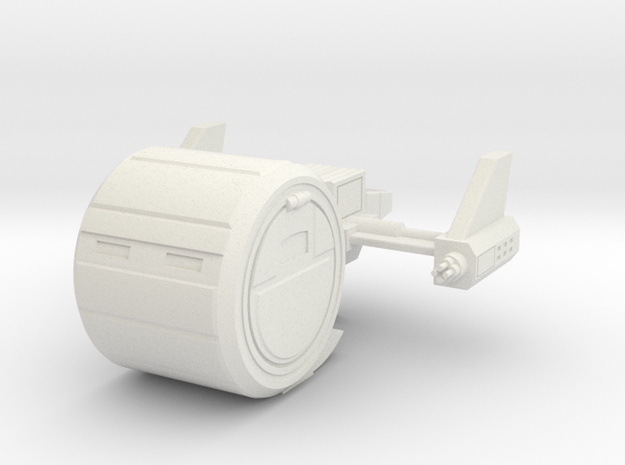 Gyro Fighter in White Natural Versatile Plastic