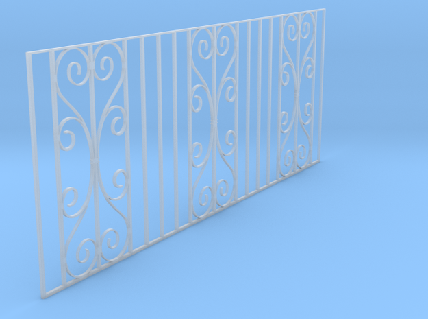 Dolls House Cast Iron Fence
