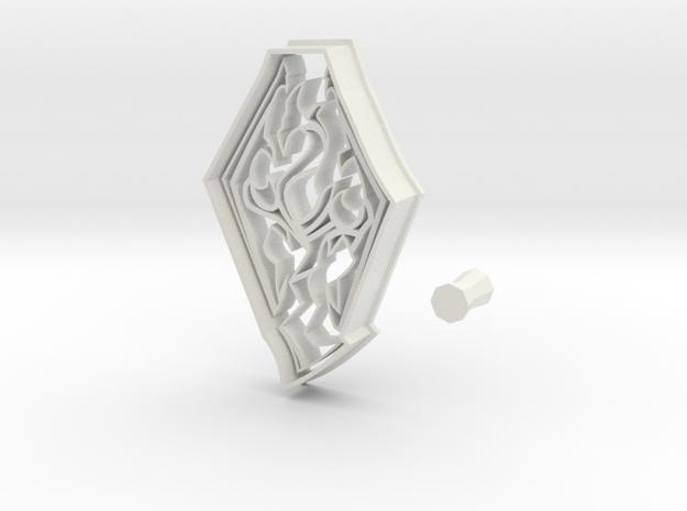 Skyrim Logo from Elder Scrolls Series Cookie Cutte