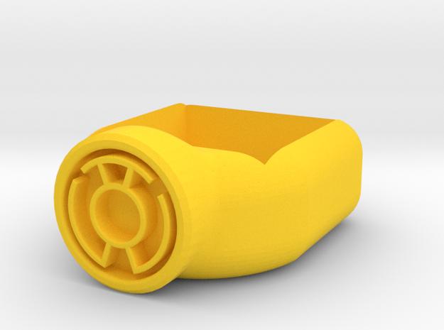Yellow Lantern Corps Chalk Holder in Yellow Processed Versatile Plastic