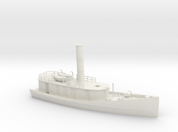 Hercules STAR TUGS Body (OO/HO 30cm Scale) in White Strong & Flexible