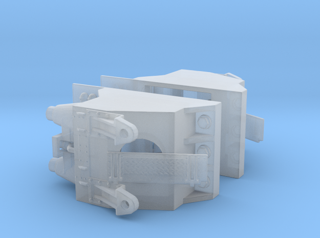 Rescaled forward part for Tracy - dual parts in Smoothest Fine Detail Plastic