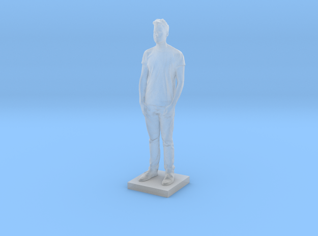 Printle C Homme 031 - 1/72 in Smooth Fine Detail Plastic