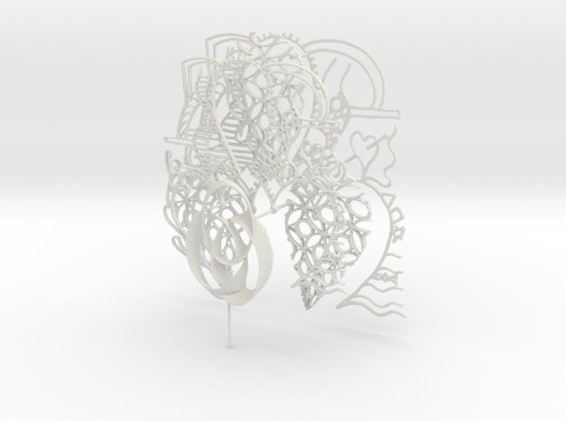 new art 5 in White Natural Versatile Plastic