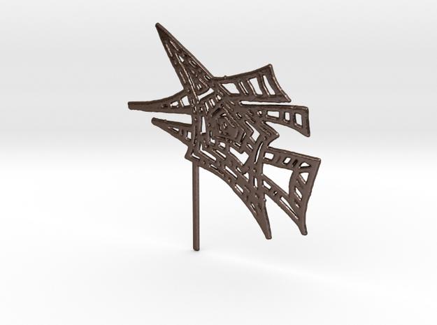 joko in Polished Bronze Steel