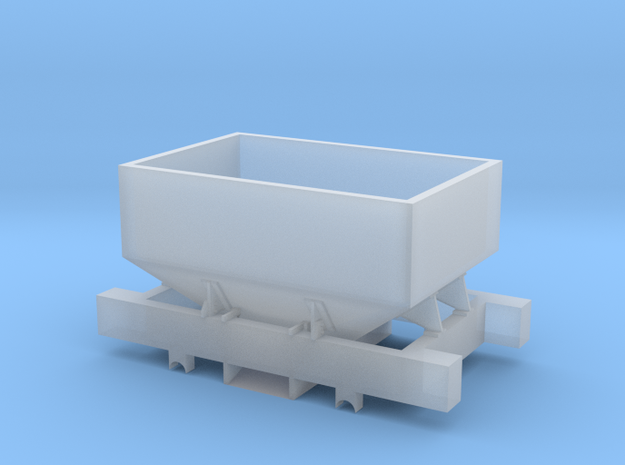 Talyllyn Winchburgh Hopper Body & Chassis 5.5mm in Smooth Fine Detail Plastic
