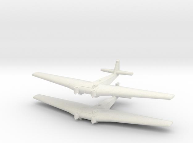 Ju-322 Mammut German Transport GW - (Qty. 2) in White Natural Versatile Plastic