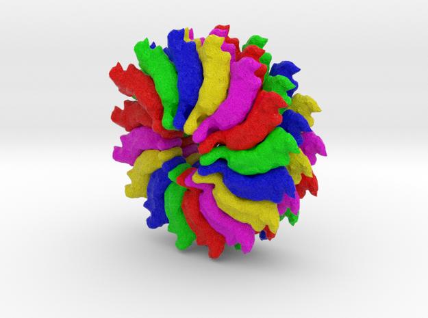 Ribgrass Mosaic Virus in Full Color Sandstone