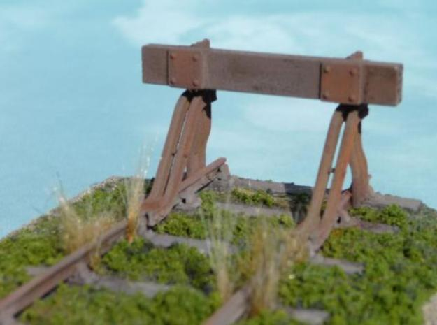 T.W.Ward No. 11b Buffer Stop 3d printed The finished product