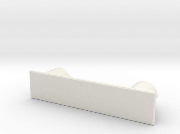 SCX10ii_body_mount_front in White Natural Versatile Plastic