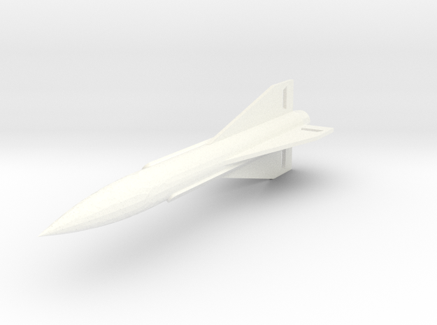 MIM-23B Improved Hawk Surface-to-Air Missile 1/72 in White Processed Versatile Plastic: 1:72