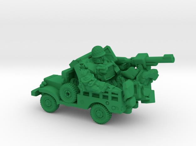 """""""Sarge"""" and """"Eggsy"""", Vehicle Mode Miniature in Green Strong & Flexible Polished"""