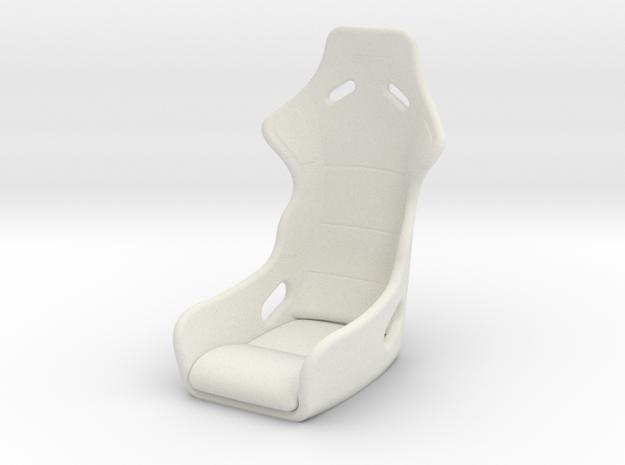 KPOPRC RC DRIFT SEAT in White Strong & Flexible