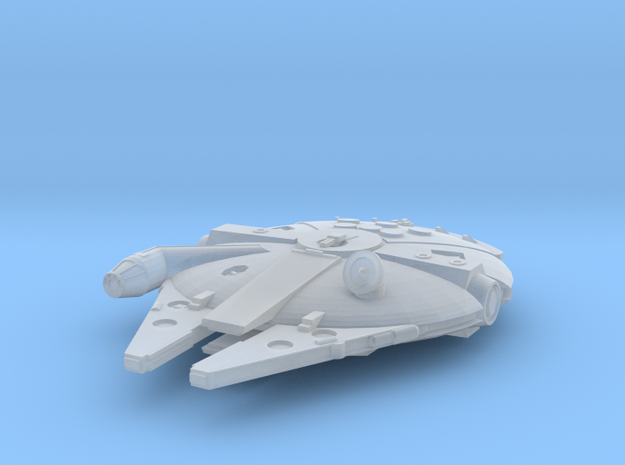 1:2700 Millenium Falcon in flight in Frosted Extreme Detail