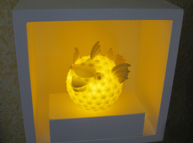 BlowFish Lamp in Yellow Strong & Flexible Polished