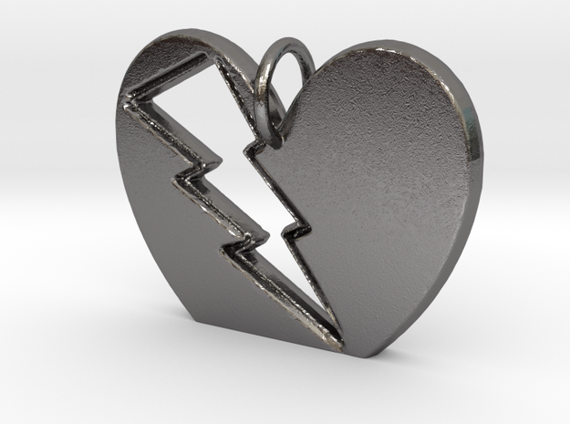 Lightening in your Heart pendant