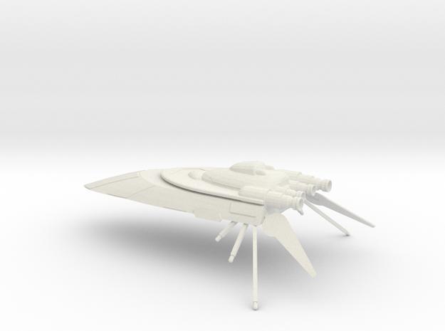 Hutt Cartel Yacht  in White Natural Versatile Plastic