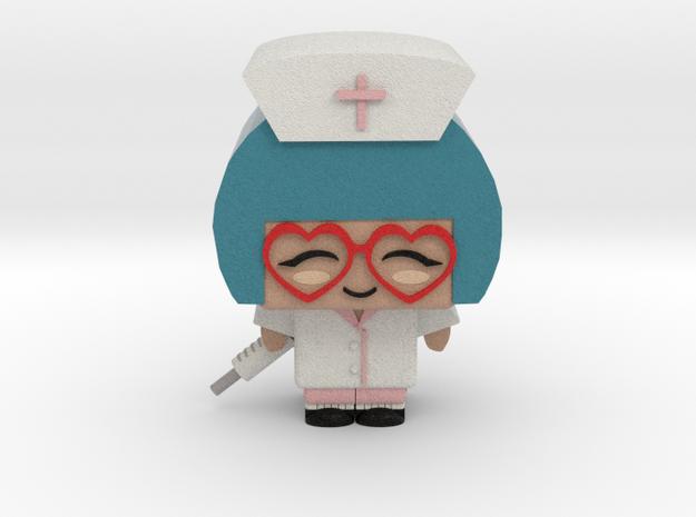 Nurse in Full Color Sandstone