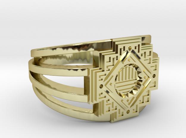 Inca Cross Ring
