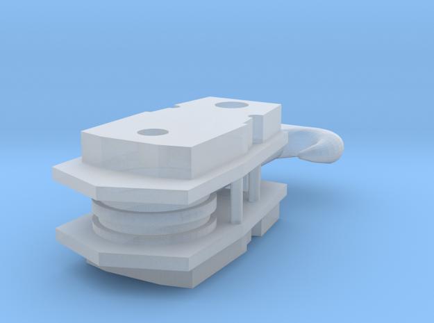 AC40-92 Haken 2 Rollen in Smooth Fine Detail Plastic