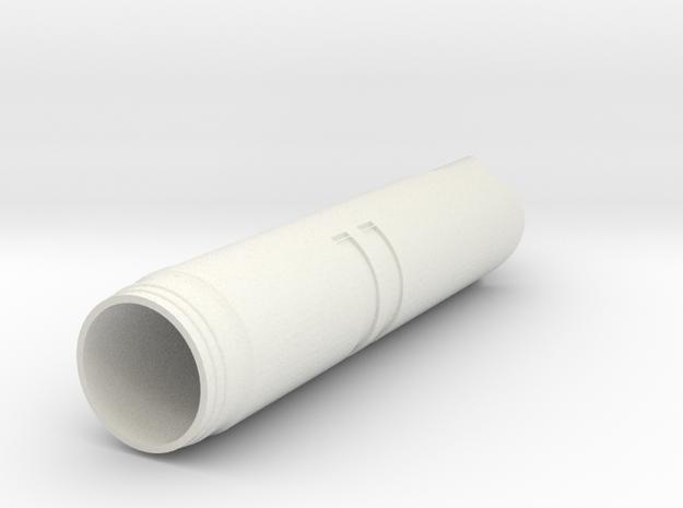 Jedi Temple Saber for 1in PVC in White Natural Versatile Plastic