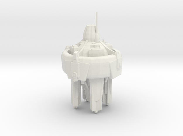 U.S.S. Defiant in White Natural Versatile Plastic