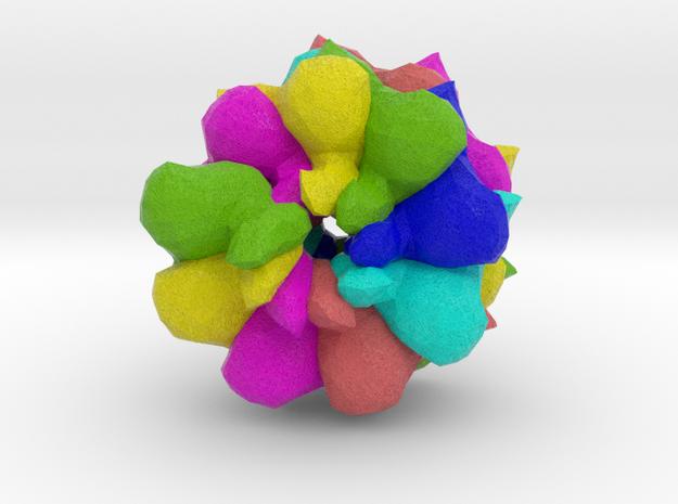 Pepino Mosaic Virus in Full Color Sandstone