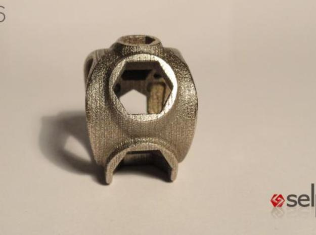1086 ToolRing - size 9 (18,90 mm) 3d printed 1086 ToolRing - Primal Finish B