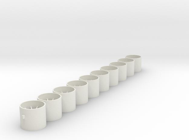 Felgen_16x14x238 in White Natural Versatile Plastic
