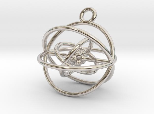 Oxygen Atom in Rhodium Plated Brass