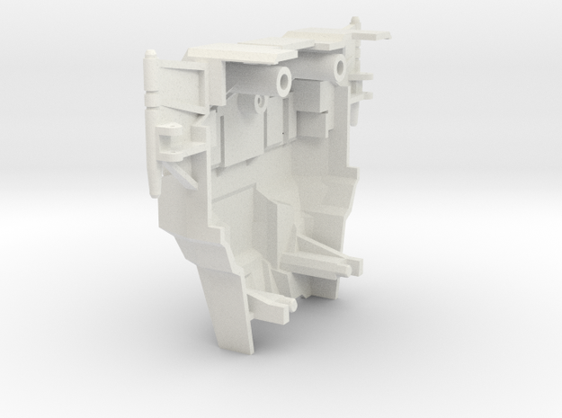 KO os Superion Chest upgrade (IDW) in White Natural Versatile Plastic