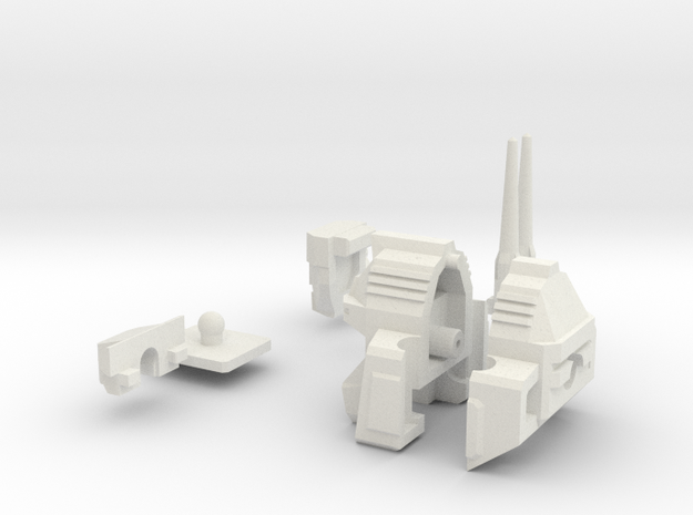 Ko Os Superion Improved Head in White Natural Versatile Plastic