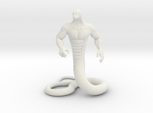 Ardius's Snakeman in White Natural Versatile Plastic