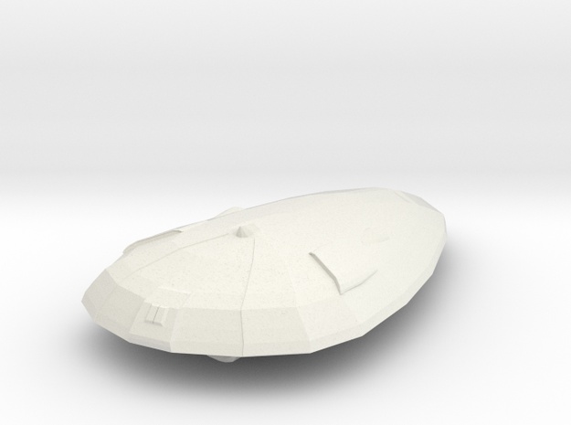 Imperial Patrol Craft  in White Natural Versatile Plastic