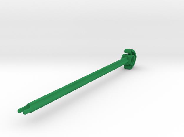 Thorn Leaf Arrow in Green Processed Versatile Plastic