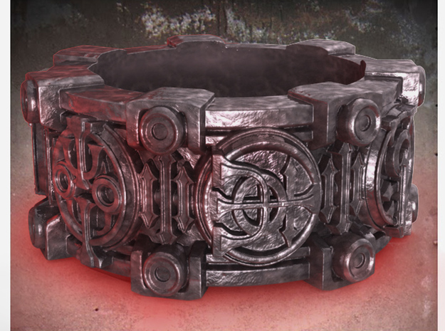 Alchemical Sigil Ring (US Size 9) 3d printed
