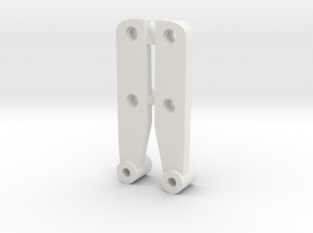 Tamiya Frog Brat Shock Towers CRP style in White Strong & Flexible