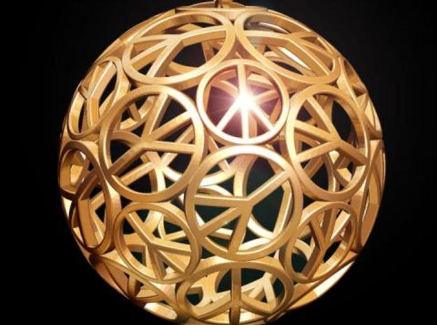 Peace Ball 3d printed Fig. F