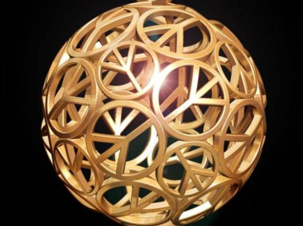 Peace Ball 3d printed Fig. H