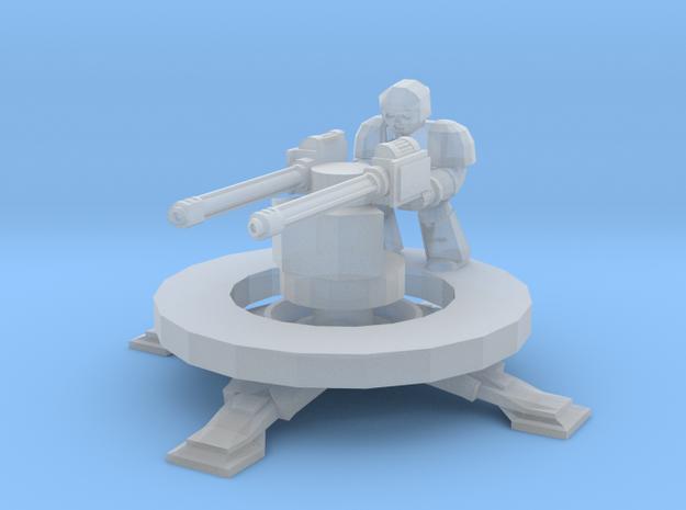 6mm Longsword Defence Platform in Smooth Fine Detail Plastic