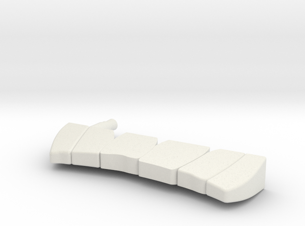 "BK-15: ""Sheepshead Chompers"" by WELCOME PROJECTS in White Natural Versatile Plastic"