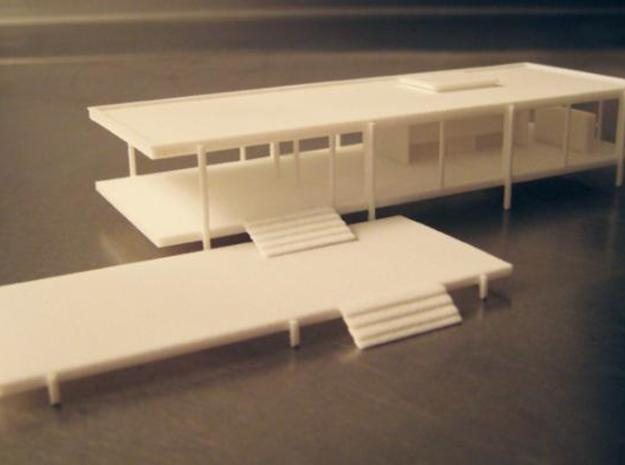 Modernist House 3d printed Farnsworth House