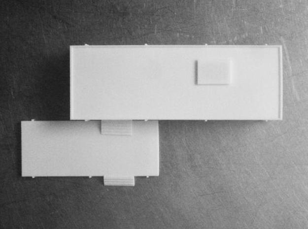 Modernist House 3d printed Plan