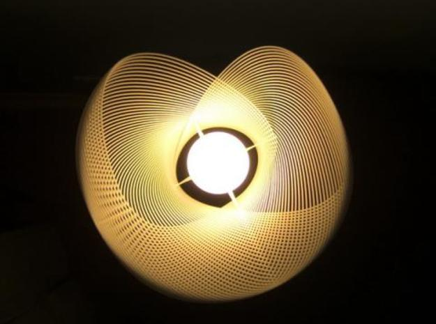 Clothoid.B Lamp 3d printed Clothoid.B-02