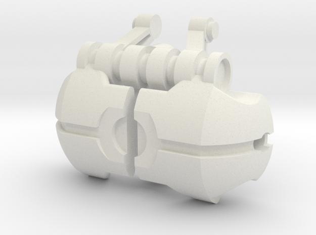 Voluka Armor 2 in White Natural Versatile Plastic