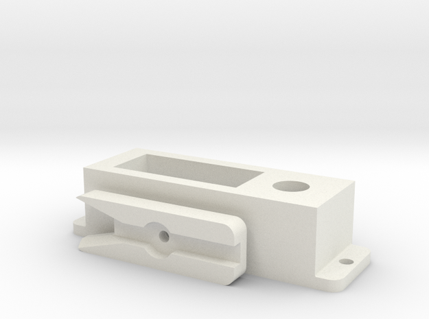 3 standenschakelaar print onderdelen in White Strong & Flexible
