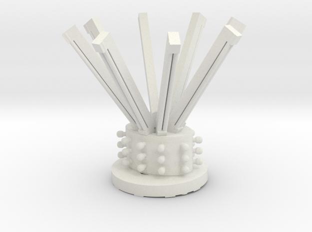 hamptonturbocenterwithflorescenttubes in White Natural Versatile Plastic
