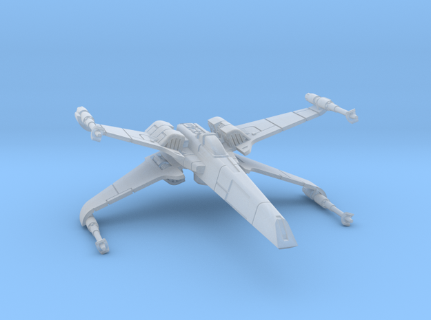 1/270 T-85 X-wing Fighter in Smooth Fine Detail Plastic